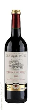Chateau David Beaulieu Bordeaux Superieur